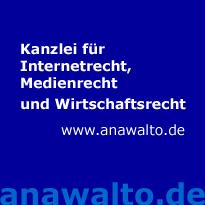 Kanzlei für Internetrecht, Medienrecht und Wirtschaftsrecht